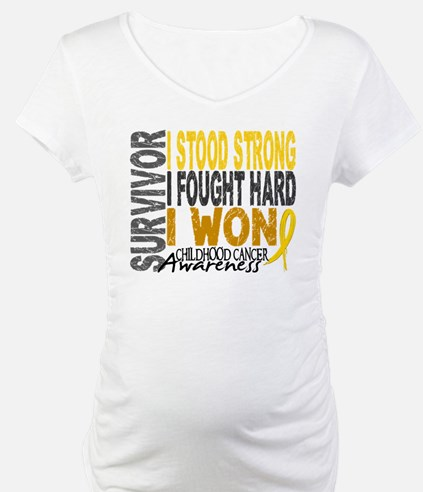 Survivor 4 Childhood Cancer Shirts and Gifts Mater