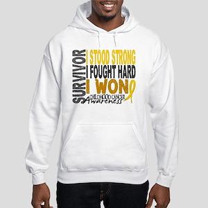 Survivor 4 Childhood Cancer Shirts and Gifts Hoode