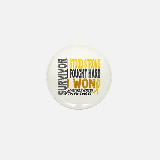Survivor 4 Childhood Cancer Shirts and Gifts Mini