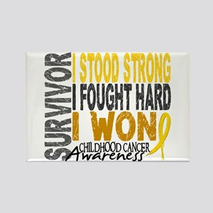 Survivor 4 Childhood Cancer Shirts and Gifts Recta