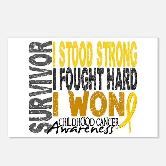 Survivor 4 Childhood Cancer Shirts and Gifts Postc
