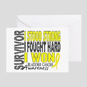 Survivor 4 Bladder Cancer Shirts and Gifts Greetin