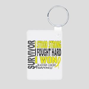 Survivor 4 Bladder Cancer Shirts and Gifts Aluminu