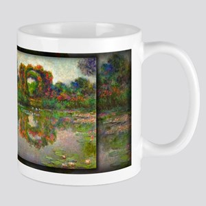 Rose Flowered Arches at Giverny Monet Mug