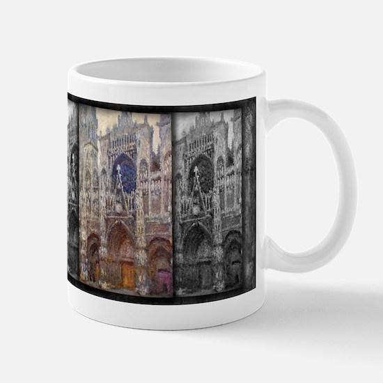 Rouen Cathedral, Grey Weather, Monet, Mug