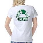 Green Surfers Back Women's Classic T-Shirt