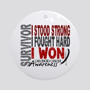 Survivor 4 Carcinoid Cancer Shirts and Gifts Ornam