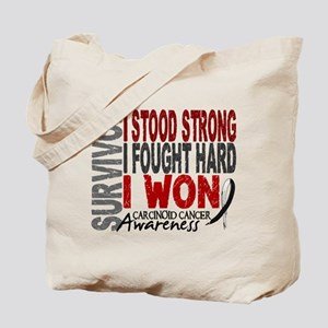 Survivor 4 Carcinoid Cancer Shirts and Gifts Tote