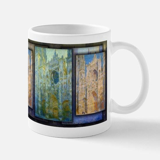 Rouen Cathedral, West Facade, Sunlight, Monet, Mug
