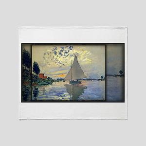Sailboat at Le Petit-Gennevilliers, Monet, Stadiu