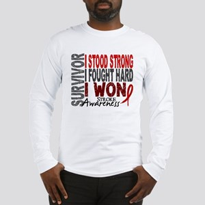 Survivor 4 Stroke Shirts and Gifts Long Sleeve T-S