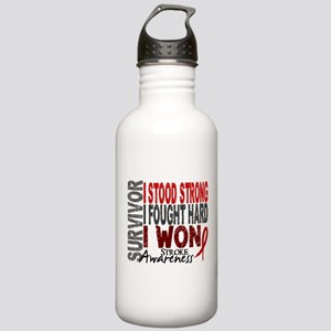 Survivor 4 Stroke Shirts and Gifts Stainless Water