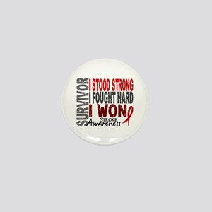 Survivor 4 Stroke Shirts and Gifts Mini Button