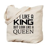 Lift like a king but look like a Queen Tote Bag