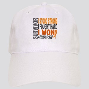 Survivor 4 Kidney Cancer Shirts and Gifts Cap