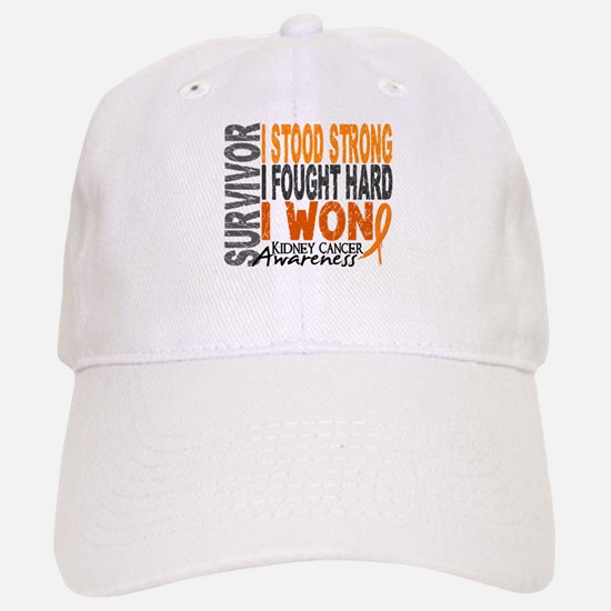 Survivor 4 Kidney Cancer Shirts and Gifts Hat