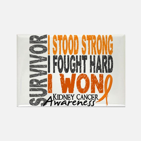 Survivor 4 Kidney Cancer Shirts and Gifts Rectangl