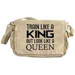 Train like a king but look like a Queen Messenger