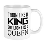 Train like a king but look like a Queen Mug