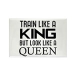 Train like a king but look like a Queen Rectangle