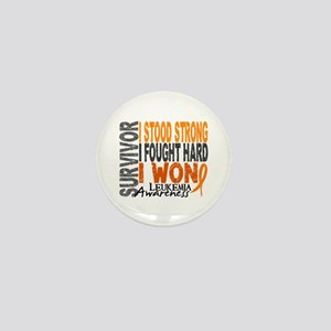 Survivor 4 Leukemia Shirts and Gifts Mini Button