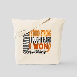 Survivor 4 Leukemia Shirts and Gifts Tote Bag
