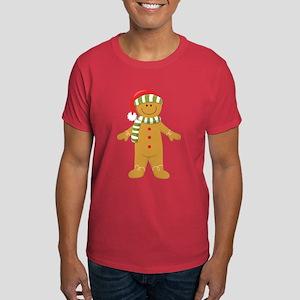 Gingerbread Man Couples Dark T-Shirt