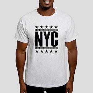 NYC Boroughs Light T-Shirt