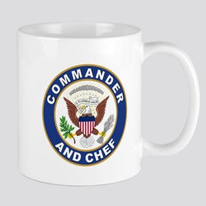 Commander and Chef Mug