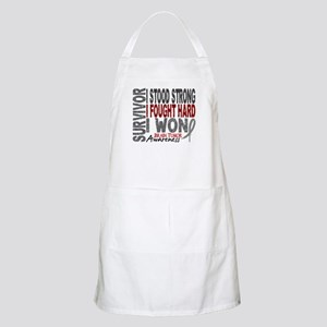 Survivor 4 Brain Tumor Shirts and Gifts Apron