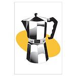 Pop Art - 'Coffee Pot' Large Poster