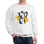 Pop Art - 'Coffee Pot' Sweatshirt