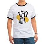 Pop Art - 'Coffee Pot' Ringer T