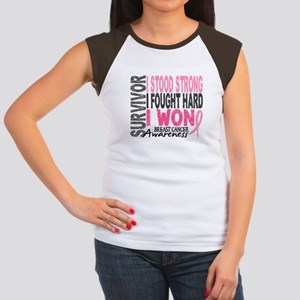 Survivor 4 Breast Cancer Shirts and Gifts Women's