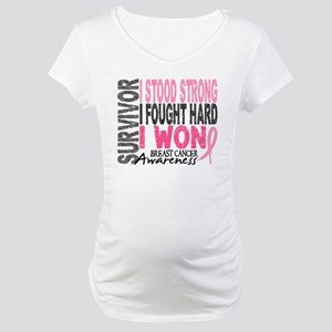 Survivor 4 Breast Cancer Shirts and Gifts Maternit