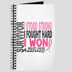 Survivor 4 Breast Cancer Shirts and Gifts Journal