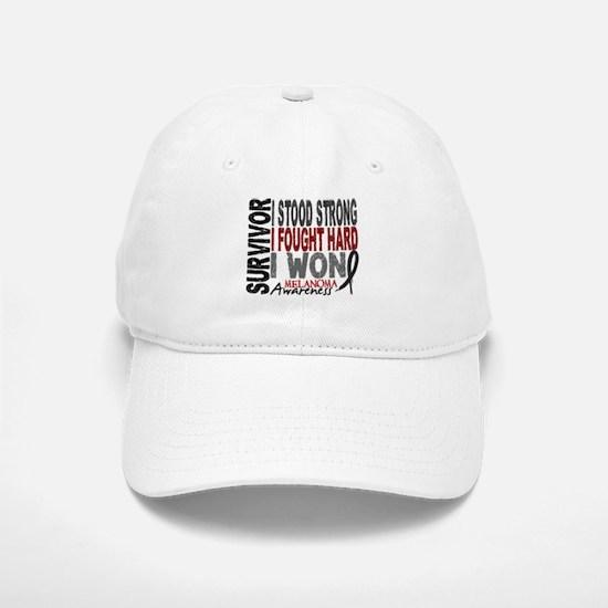 Survivor 4 Melanoma Shirts and Gifts Baseball Baseball Cap
