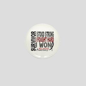 Survivor 4 Melanoma Shirts and Gifts Mini Button