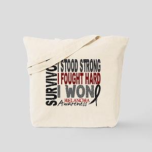 Survivor 4 Melanoma Shirts and Gifts Tote Bag