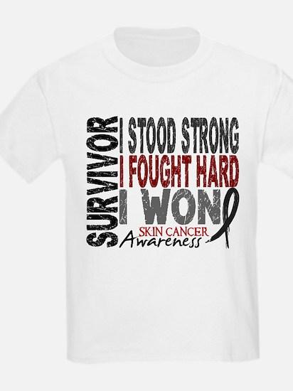 Survivor 4 Skin Cancer Shirts and Gifts T-Shirt