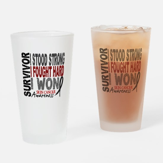 Survivor 4 Skin Cancer Shirts and Gifts Drinking G