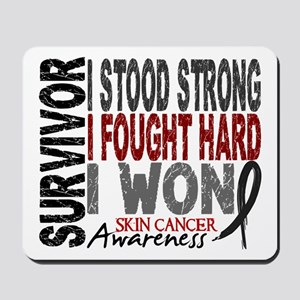 Survivor 4 Skin Cancer Shirts and Gifts Mousepad