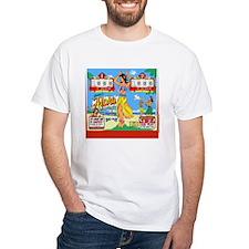 Gottlieb® Aloha Pinball White T-Shirt