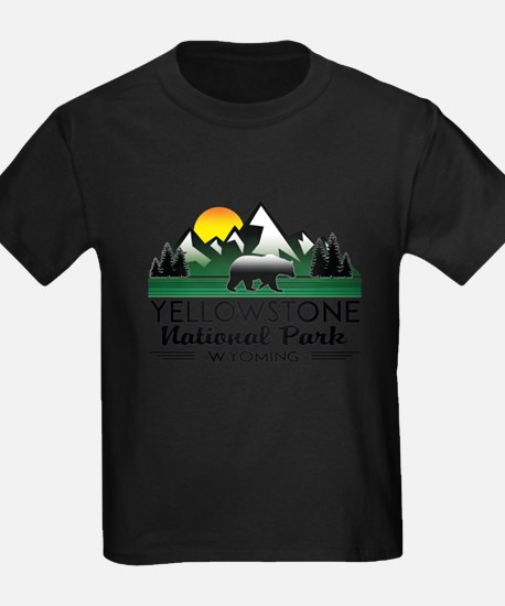 YELLOWSTONE NATIONAL PARK WYOMING MOUNTAIN T-Shirt