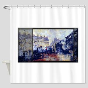 Saint-Lazare Station, The Pont de l'Europe, Monet,