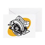 Pop Art - 'Circular Saw' Greeting Cards (Package o