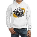Pop Art - 'Circular Saw' Hooded Sweatshirt