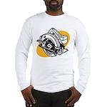 Pop Art - 'Circular Saw' Long Sleeve T-Shirt