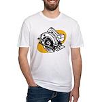 Pop Art - 'Circular Saw' Fitted T-Shirt