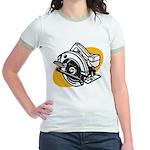 Pop Art - 'Circular Saw' Jr. Ringer T-Shirt